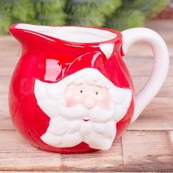 """Молочник""""Санта Клаус """" в форме звезды"""