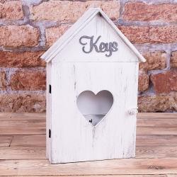 """ключница """"keys"""" белая"""