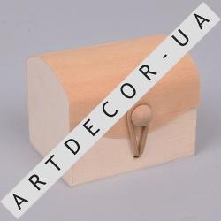 Коробка подарочная деревянная мал.