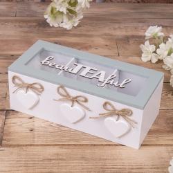 "коробка под пакетики чая ""beauTEAful """