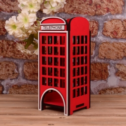 "домик ""Telephone"" под чайные пакетики"