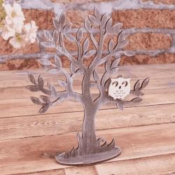 декор - дерево коричневое 20см