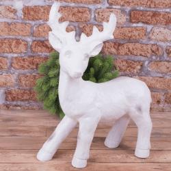 керамическая статуэтка олень гигант