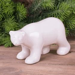 """Статуэтка """"белый медведь """""""