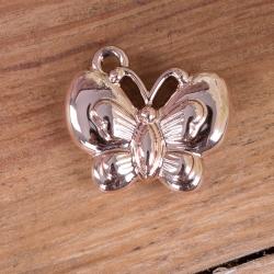 Металлическая подвеска бабочка