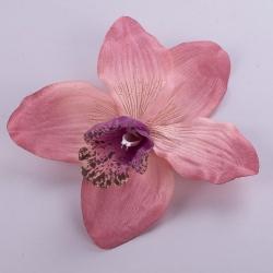 головка орхидеи розовая