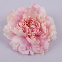 """головка пион """"покрученный большой"""" розово-персиковый"""
