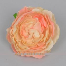 головка камелии кораллово -розовая