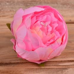 головка пион бутоном розовая #11