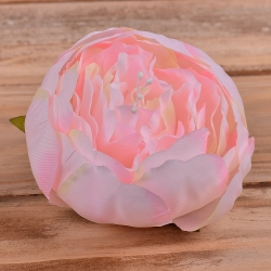 головка пион бутоном нежно розовая #5