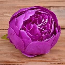 головка пион бутоном фиолетовая #9