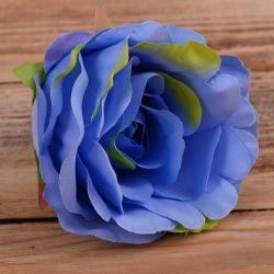 "Головка розы ""аква"" синяя"