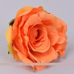 "Головка розы ""аква"" оранж"