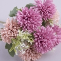 """букет """"хризантемы"""" миник фиолетово-персиковый"""