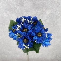 букет василек (темно синий)