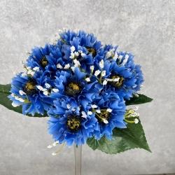 букет василек (сине-голубой)