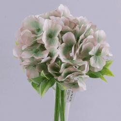 букет гортензии розово-мятный