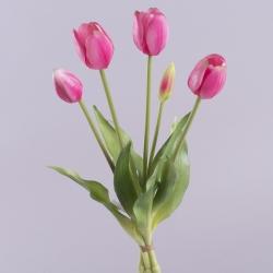 """букет тюльпан """"полуоткрытый"""" латекс розовый"""