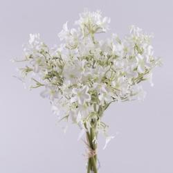 букет первоцвет с ягодками (белый)