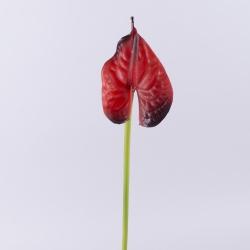 антуриум латексный бордовый