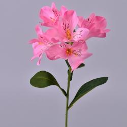 альстромерия искусственная розовая