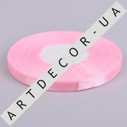 лента атласная 0.65см*35 (цвет №04 -розовый)