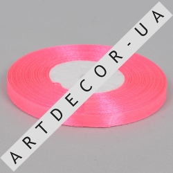 лента атласная 0.65см*35 (цвет №05 розовый)