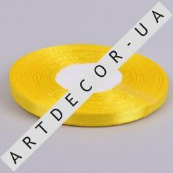 лента атласная 0.65см*35 (цвет №15 -желтый)