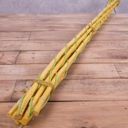 Бамбуковые палки желтые оптом. Бамбуковые палки для декора купить