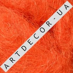 сизаль 80г. (цвет №1411 )ярко оранжевая