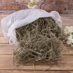 наполнитель - бумага крафт - оливковая, жатая (200грамм)