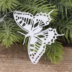 металлическая бабочка на прищепке