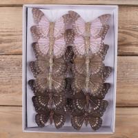 бабочки 8 см (12 шт.)
