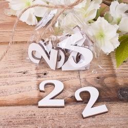 "деревянный декор ""цифра 2 """