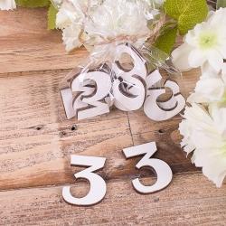 "деревянный декор ""цифра 3 """