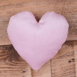 """Игрушка мягкая """"букетная"""" сердце розовое"""
