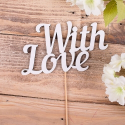 "деревянные слова""with love"""