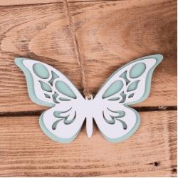 бабочка подвесная мятная