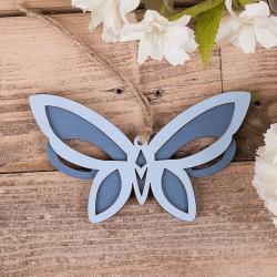 бабочка подвесная синяя