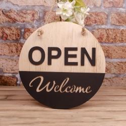 Табличка на двери Open-Closed купить. Табличка открыто закрыто купить Украина