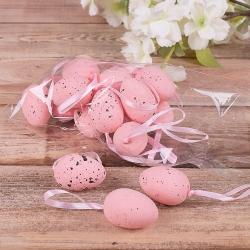 """яйца """"перепелиные средние"""" розовые"""