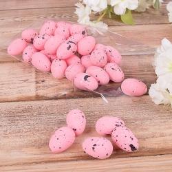"""яйца """"перепелки"""" средние розовые"""