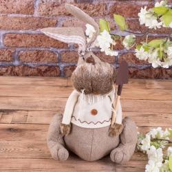 Заяц тканный стоппер (мальчик)