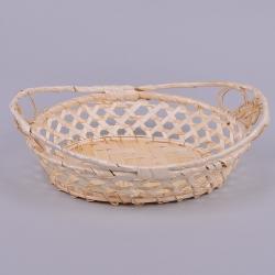 поднос из бамбука лодочка