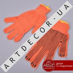 перчатки в точечку