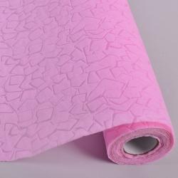 Материал для флористов с тиснением (светло-розовый -12)