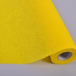 Материал для флористов с тиснением (желтый - 23 )