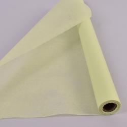 флизелин флористический 50см*8м. лимонный - 437