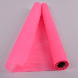 флизелин флористический (плотный) 50см*10 ярдов ярко-розовый - 709
