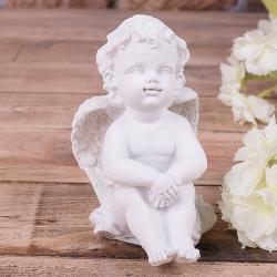 ангелы в розовом веночке (набор 4шт)